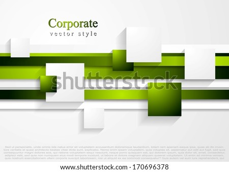 Vector abstract tech bright background - stock vector