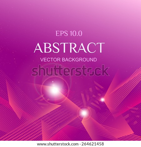 Vector Abstract Technological Background