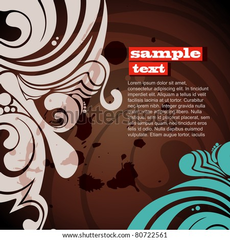 vector abstract trendy design background