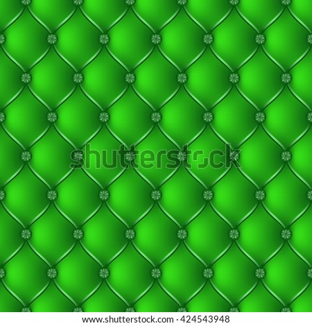 Vector abstract upholstery green background. Can be used in cover design, book design, website background, CD cover, advertising.