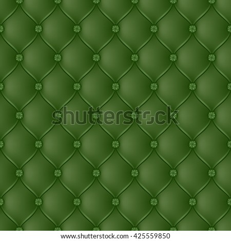 Vector abstract upholstery green background. Can be used in cover design, book design, website background, CD cover, advertising