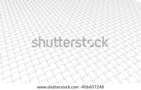 Vector abstract Wireframe background