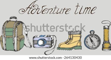 Vector adventure time ...