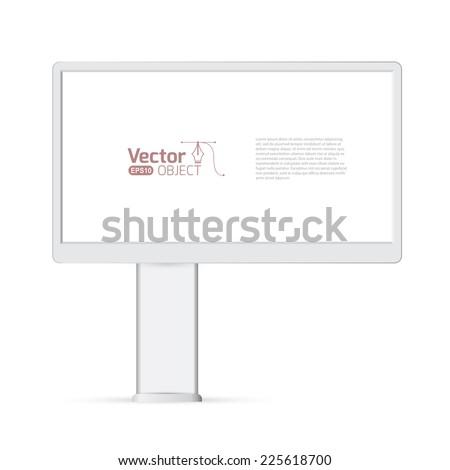 vector advertising construction  - stock vector