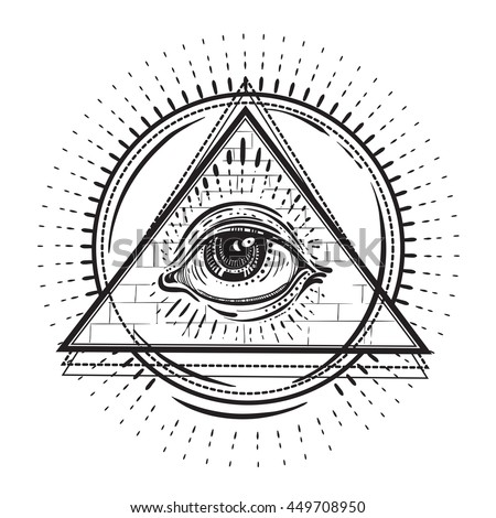 all seeing eye stock photos royaltyfree images amp vectors