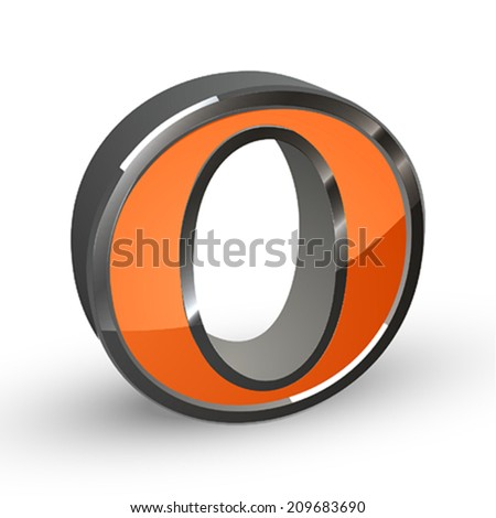 VECTOR ALPHABET - stock vector