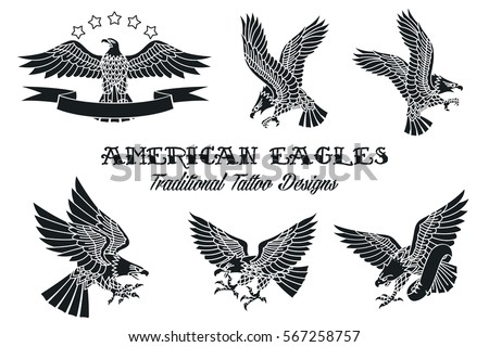 American Eagle Stock Images Royalty Free &amp Vectors  Shutterstock