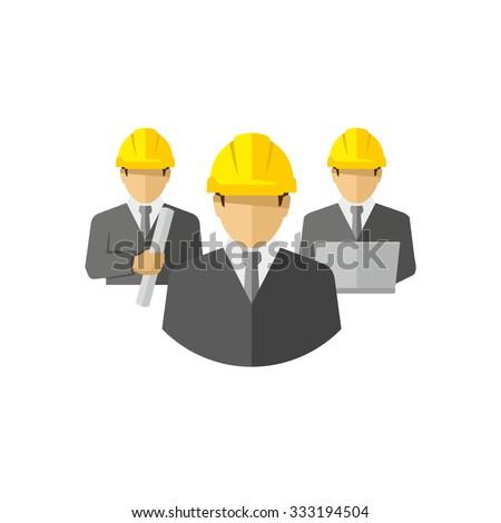 Vector Architects Team  - stock vector
