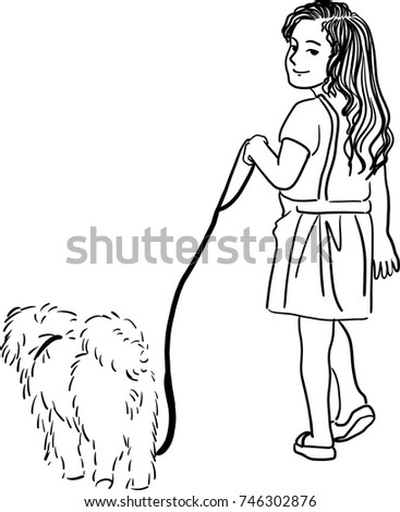 Search P2 also Vector Art Drawing Little Girl Walking 746302876 moreover 183412 as well Offtheleashdoggycartoonsshop besides 254453447666465816. on love on a leash logo