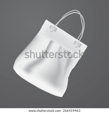Vector art graphic illustration of summer bag