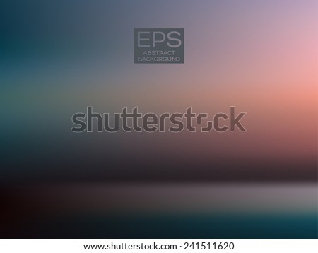 Vector art. Illustration of soft colored abstract background. Web and mobile interface template. Corporate website design. Minimalistic backdrop.Editable. Blurred. Light rays - stock vector