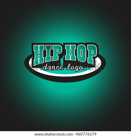 Vector Artistic Flat Hiphop Dance Logo Stock Vector 460776379 ...