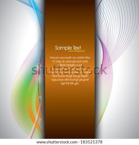 Vector Background. - stock vector