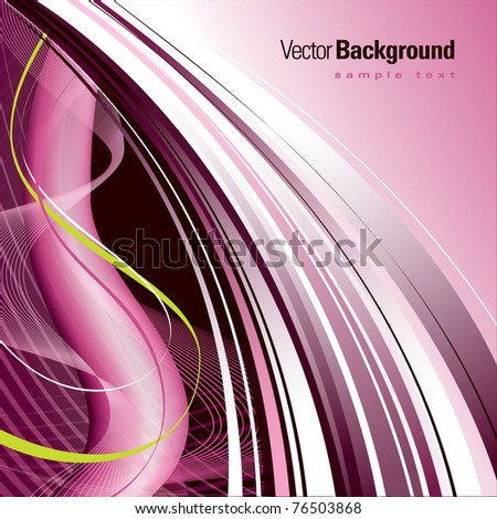 Vector Background. Abstract Design. - stock vector