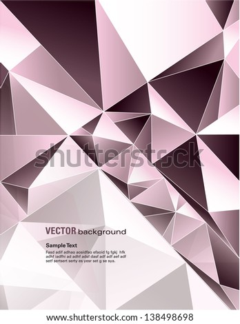 Vector Background. Abstract Design in Eps10 Format. - stock vector