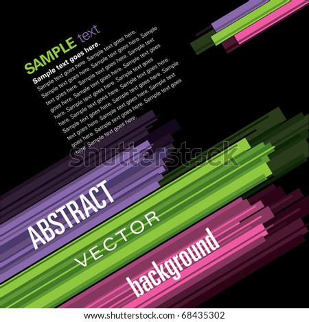 Vector Background. Abstract Illustration. Eps10.
