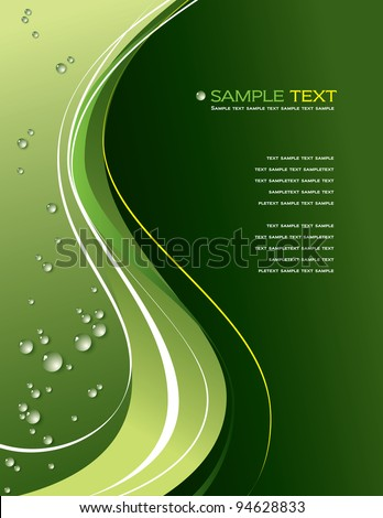 Vector Background. Abstract Illustration. Eps10. - stock vector