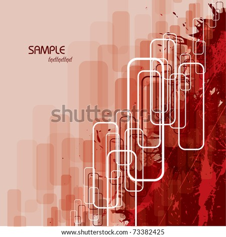 Vector Background. Abstract Illustration in eps10 format. - stock vector