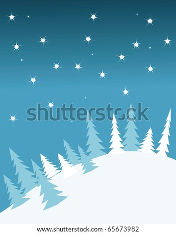 vector background card for new year. - stock vector