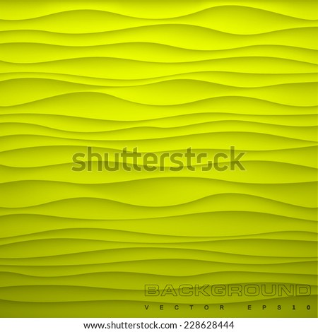 vector background green lime yellow xanthous  - stock vector