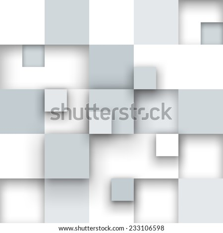 Vector background. Illustration of abstract texture with squares. Pattern design for banner, poster, flyer, cover, brochure. - stock vector