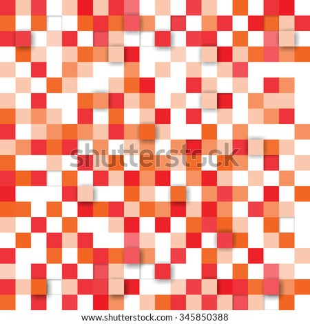 Vector background. Illustration of abstract texture with squares. Pattern design for banner, poster, card, postcard, cover, brochure.