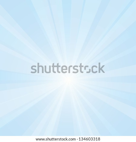 Vector background of a bright light. - stock vector
