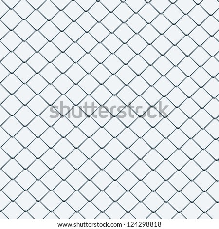 Vector background of a wire net. - stock vector