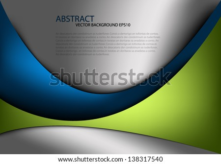 vector background overlap dimension 3d graphic message board for text and message design frame line shadow for modern web design eps10 - stock vector
