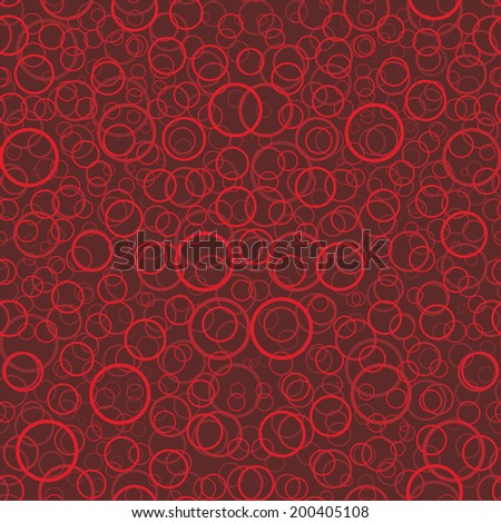 vector background, seamless pattern with red elements, geometric design, vector illustration