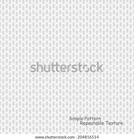Vector background - simple pattern, geometric repeatable texture - stock vector
