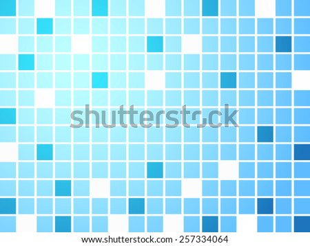 Vector background - square gradient mosaic