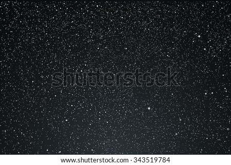 Vector background. Starry dark night sky. Stars, sky, night. - stock vector