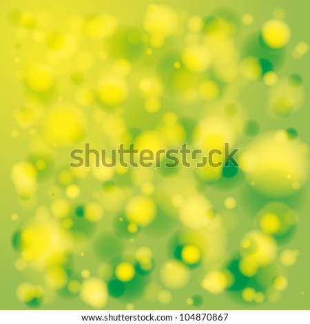 Vector Background, Summer lights