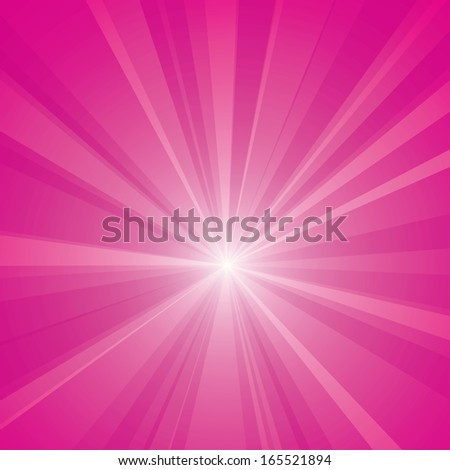 Vector background with a burst. - stock vector