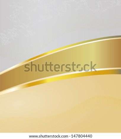 Vector background with a stripe separating background into two parts, EPS 10 - stock vector