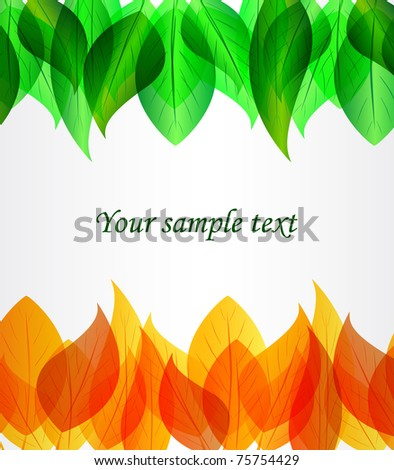 Vector background  with place for text , eps 10 - stock vector