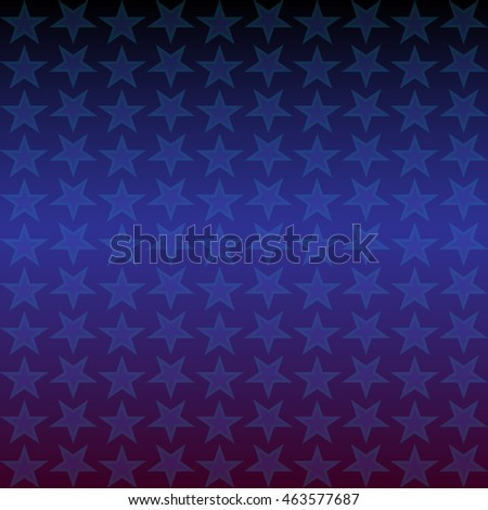 Vector background with stars pattern