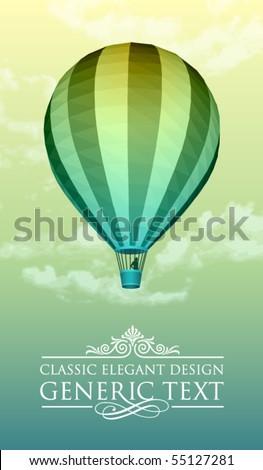 Vector Balloon - stock vector