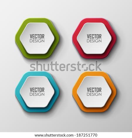 Vector banners set  - stock vector