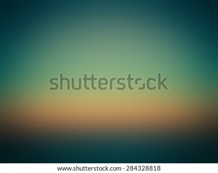 Vector - Beautiful Colorful Gradient Green Blue Orange - stock vector
