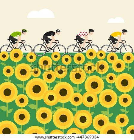 Sunflower Field Stock Vectors, Images & Vector Art | Shutterstock
