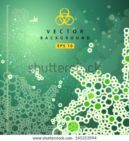 Vector_biomass_background - stock vector