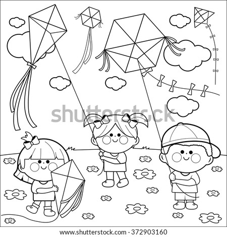 Coloring Page Stock Images Royalty Free Images Vectors