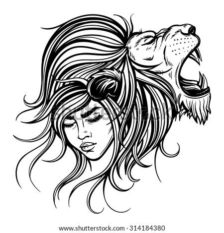 Female Lion Sto...