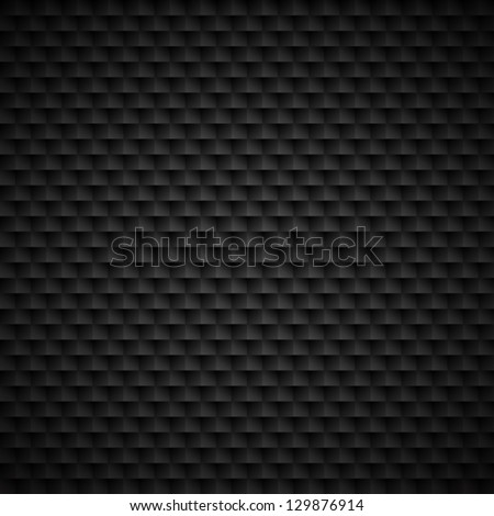 Vector black background. Seamless tiles texture. - stock vector
