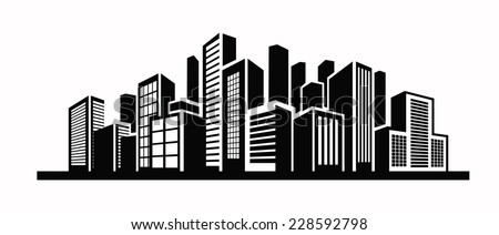 City Buildings Vector Stock Images, Royalty-Free Images ...