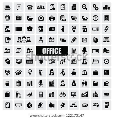 Office Icons Stock Images, Royalty-Free Images & Vectors ...