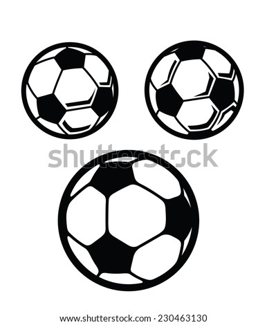 how to draw acartoon soccer ball