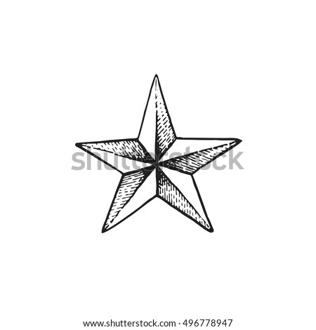 Nautical Star Tattoo Stock Images, Royalty-Free Images & Vectors ...